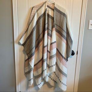 3 FOR $50 // Ann Taylor (LOFT) shawl/poncho/wrap